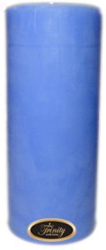 確認天国バッチTrinity Candle工場 – ベビーパウダー – ブルー – Pillar Candle – 4 x 9