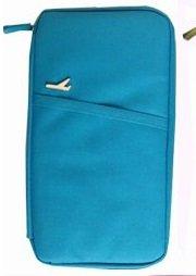 【パスポートケース】 トラベルグッズ 便利グッズ ブルー【9701】