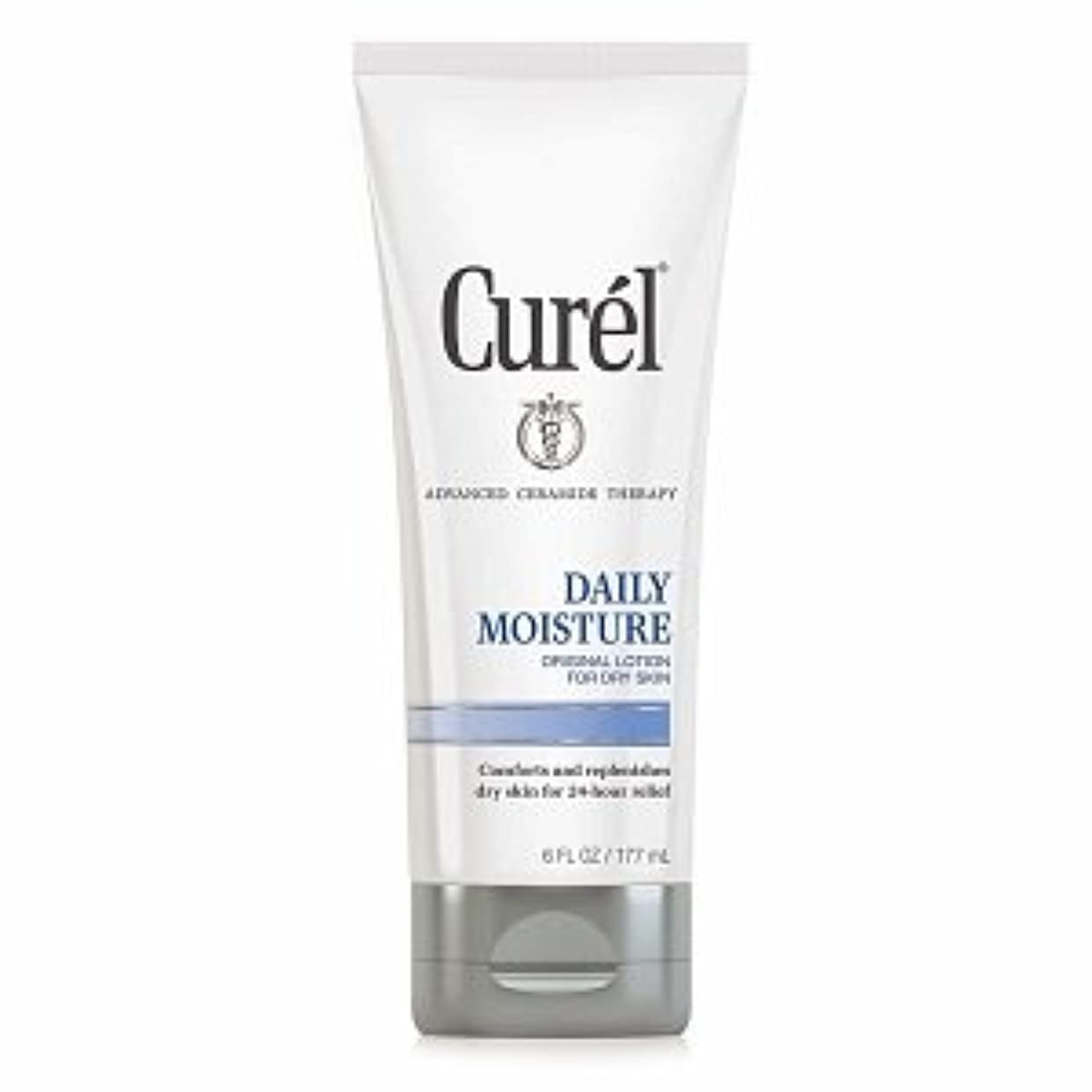 同行する累積健康的Curel Daily Moisture Original Lotion for Dry Skin - 6 fl oz (177 ml)