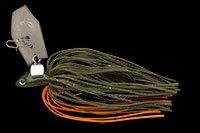 ノリーズ(NORIES) スピナーベイト フラチャット 10g タフタイムオレンジインパクト(004) HC10 11079