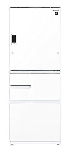 シャープ メガフリーザー 冷蔵庫 551L ピュアホワイト SJ-WX55D-W