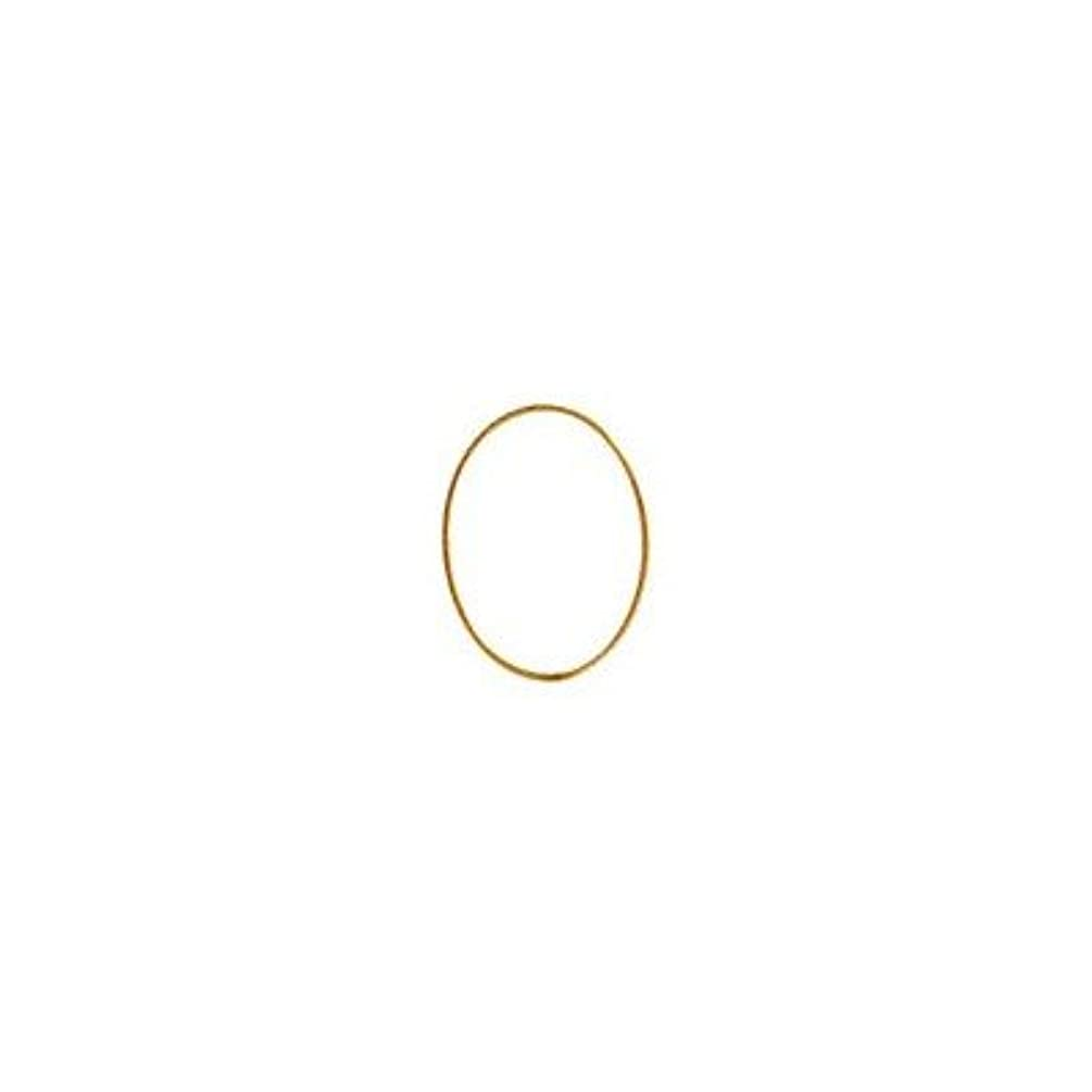 カウントアップ報告書モニターシャレドワミュゼ BLC ブローチ オーバル 9×6.5mm ゴールド 6P