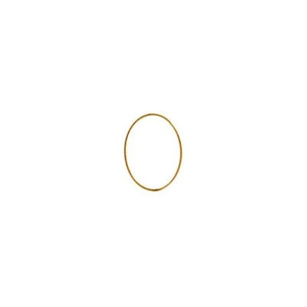 可動テレビ嫉妬シャレドワミュゼ BLC ブローチ オーバル 9×6.5mm ゴールド 6P