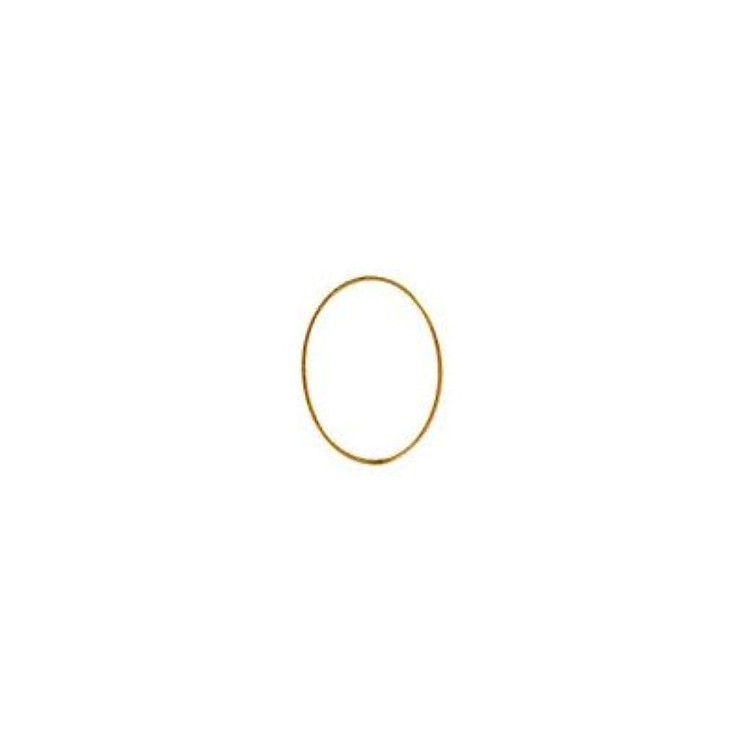 シャレドワミュゼ BLC ブローチ オーバル 9×6.5mm ゴールド 6P