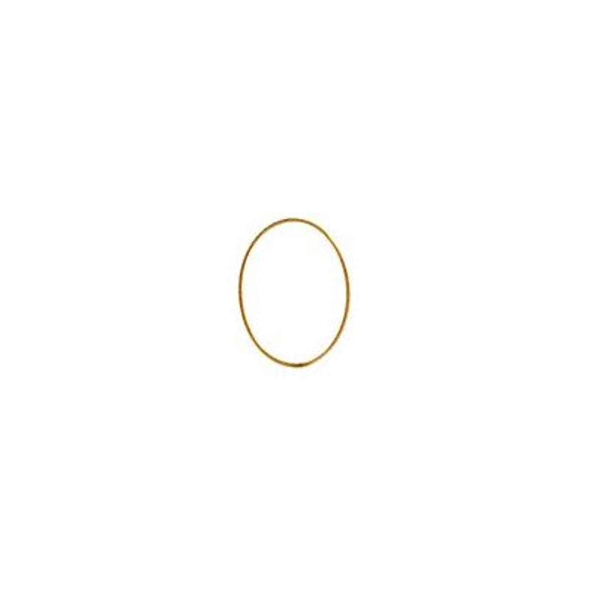 密度華氏投げ捨てるシャレドワミュゼ BLC ブローチ オーバル 9×6.5mm ゴールド 6P