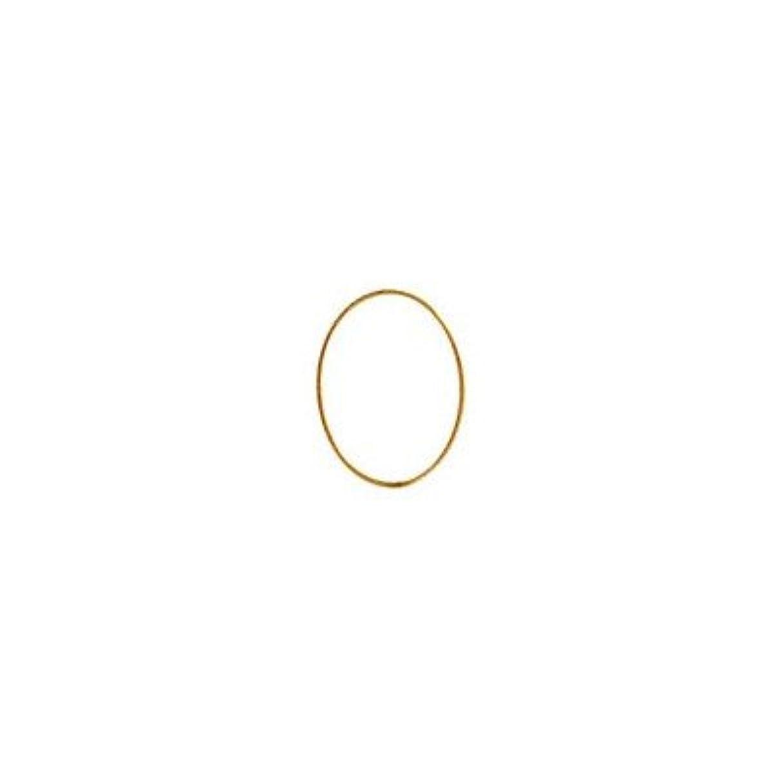 夫であること熱心シャレドワミュゼ BLC ブローチ オーバル 9×6.5mm ゴールド 6P
