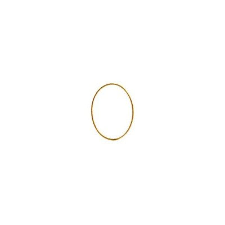 自宅で十分ダースシャレドワミュゼ BLC ブローチ オーバル 9×6.5mm ゴールド 6P