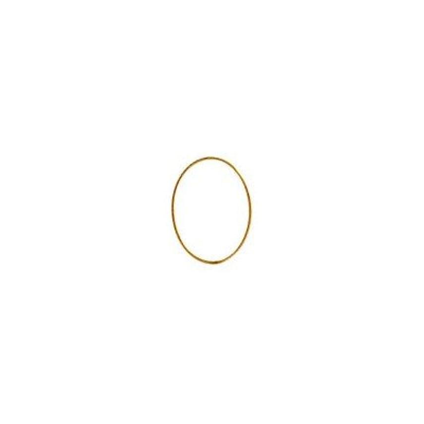 繊毛ピルファー対処シャレドワミュゼ BLC ブローチ オーバル 9×6.5mm ゴールド 6P