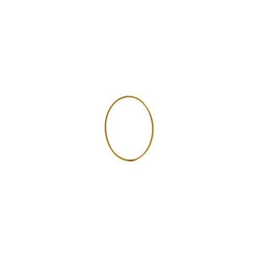 好ましい報復神聖シャレドワミュゼ BLC ブローチ オーバル 9×6.5mm ゴールド 6P
