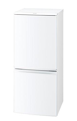 シャープ 冷蔵庫 つけかえどっちもドアタイプ 137L ホワイト SJ-D14B-W
