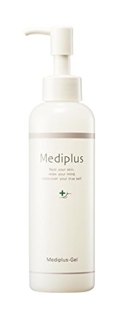 カーテン労働者銀【Mediplus+】 メディプラスゲル オールインワン ゲル 180g [ セラミド 保湿 美容液 ]