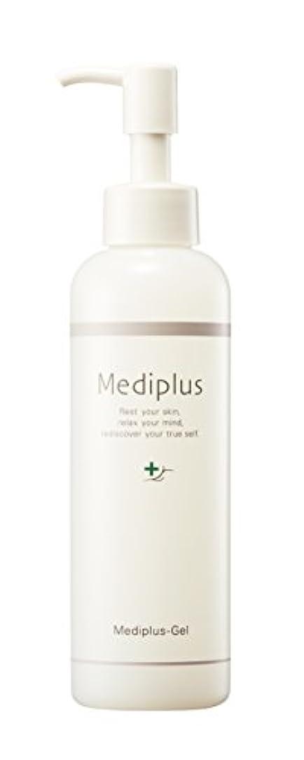 行進理容師蜂【Mediplus+】 メディプラスゲル オールインワン ゲル 180g [ セラミド 保湿 美容液 ]