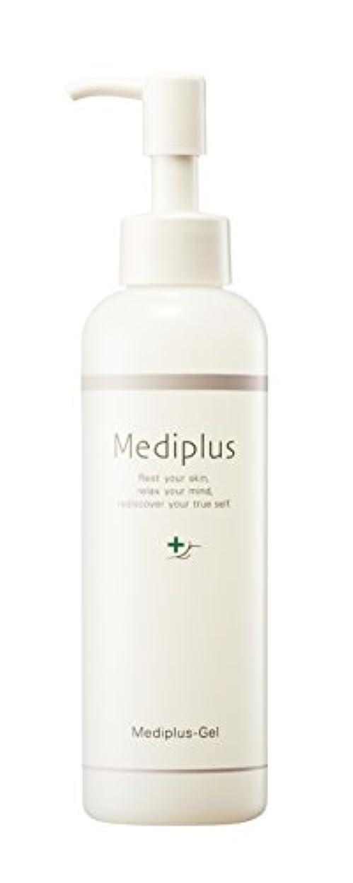 繊毛使役受ける【Mediplus+】 メディプラスゲル オールインワン ゲル 180g [ セラミド 保湿 美容液 ]
