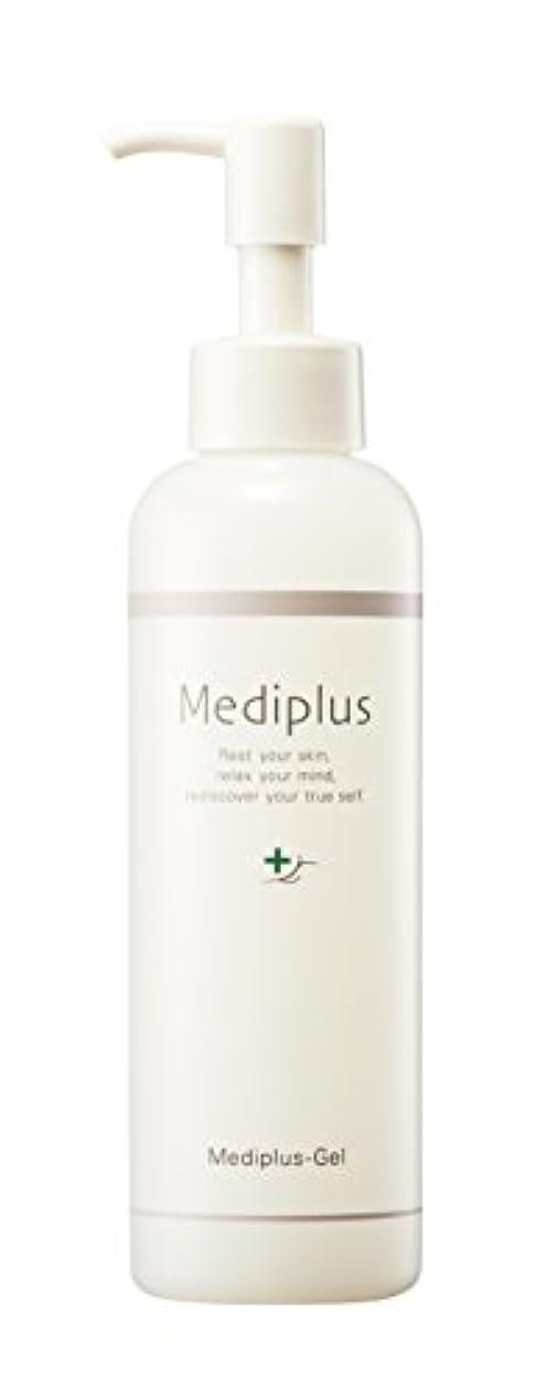 船員区別するさらに【Mediplus+】 メディプラスゲル オールインワン ゲル 180g [ セラミド 保湿 美容液 ]