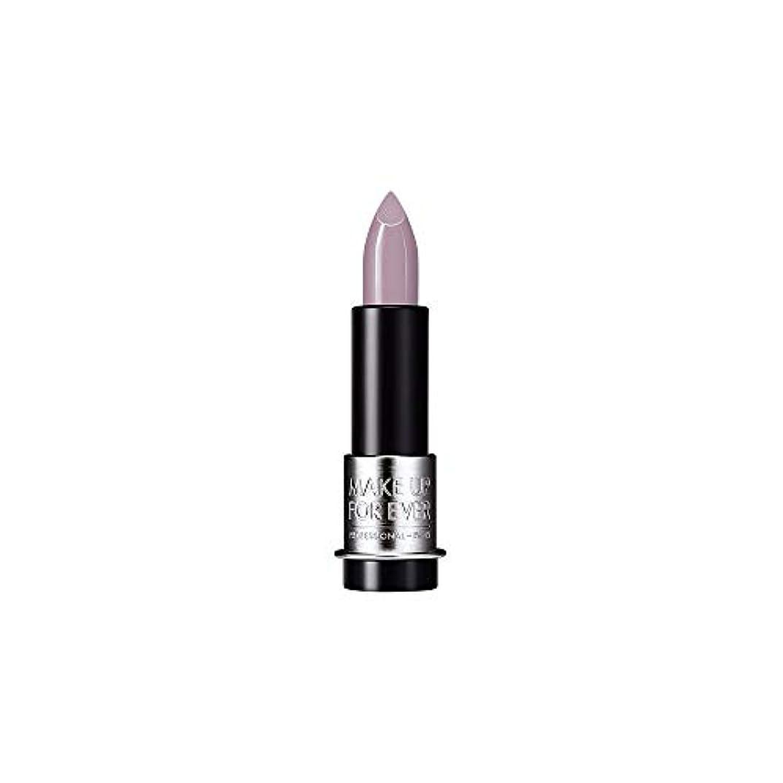 噛むマイナートーン[MAKE UP FOR EVER] これまでアーティストルージュクリーム口紅3.5グラムのC502を補う - トープバイオレット - MAKE UP FOR EVER Artist Rouge Creme Lipstick...