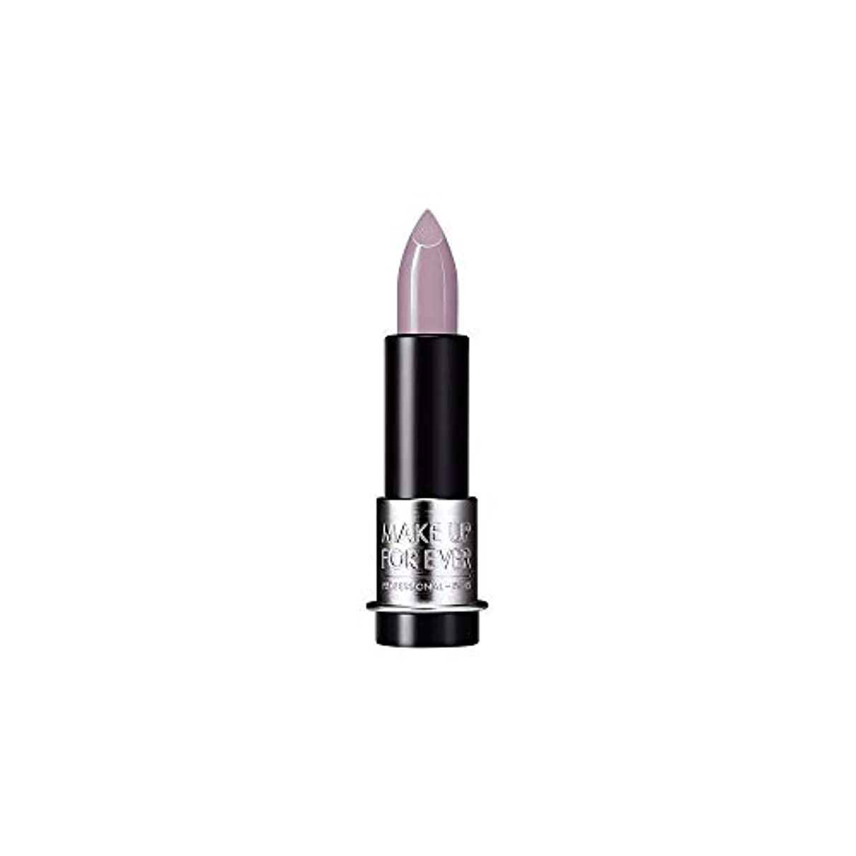 ダーベビルのテス気分が良いすり[MAKE UP FOR EVER] これまでアーティストルージュクリーム口紅3.5グラムのC502を補う - トープバイオレット - MAKE UP FOR EVER Artist Rouge Creme Lipstick 3.5g C502 - Taupe Violet [並行輸入品]