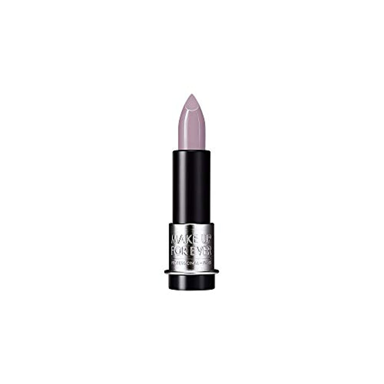 居間へこみ彼女自身[MAKE UP FOR EVER] これまでアーティストルージュクリーム口紅3.5グラムのC502を補う - トープバイオレット - MAKE UP FOR EVER Artist Rouge Creme Lipstick...