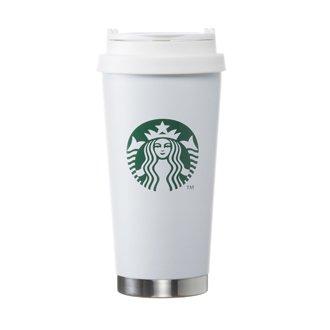 Starbucks coffee スターバックス ステンレス ToGoロゴタンブラーマットホワイト グランデ 470ml