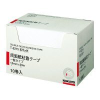コクヨ 両面紙粘着テープ お徳用 E 15mm・20m 10個 T-E215 Japan