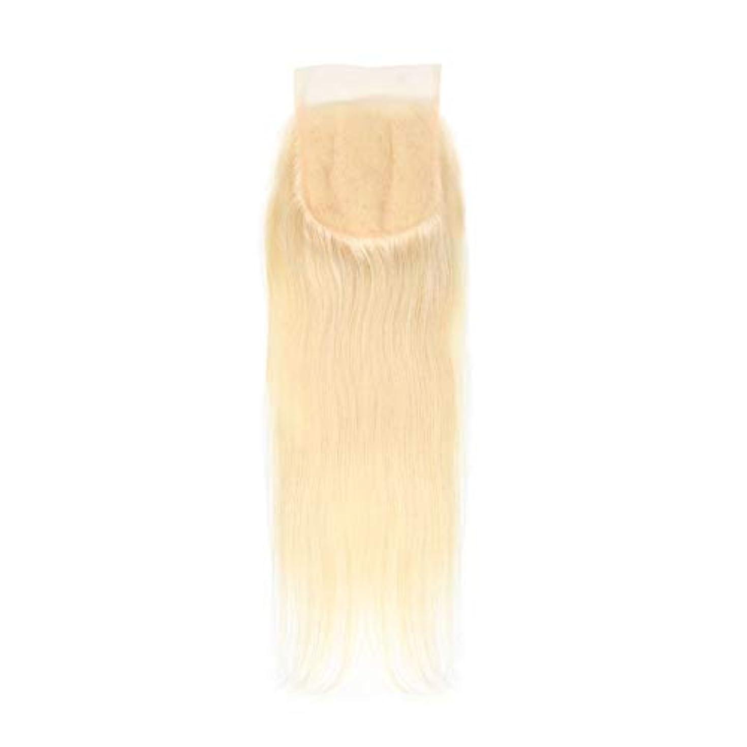 ビザ必需品第九SRY-Wigファッション 女性のためのファッションレースフロントかつらロングストレートブロンド合成かつらミックスブロンド側別れ耐熱髪かつら (Color : 白, Size : 16inch)