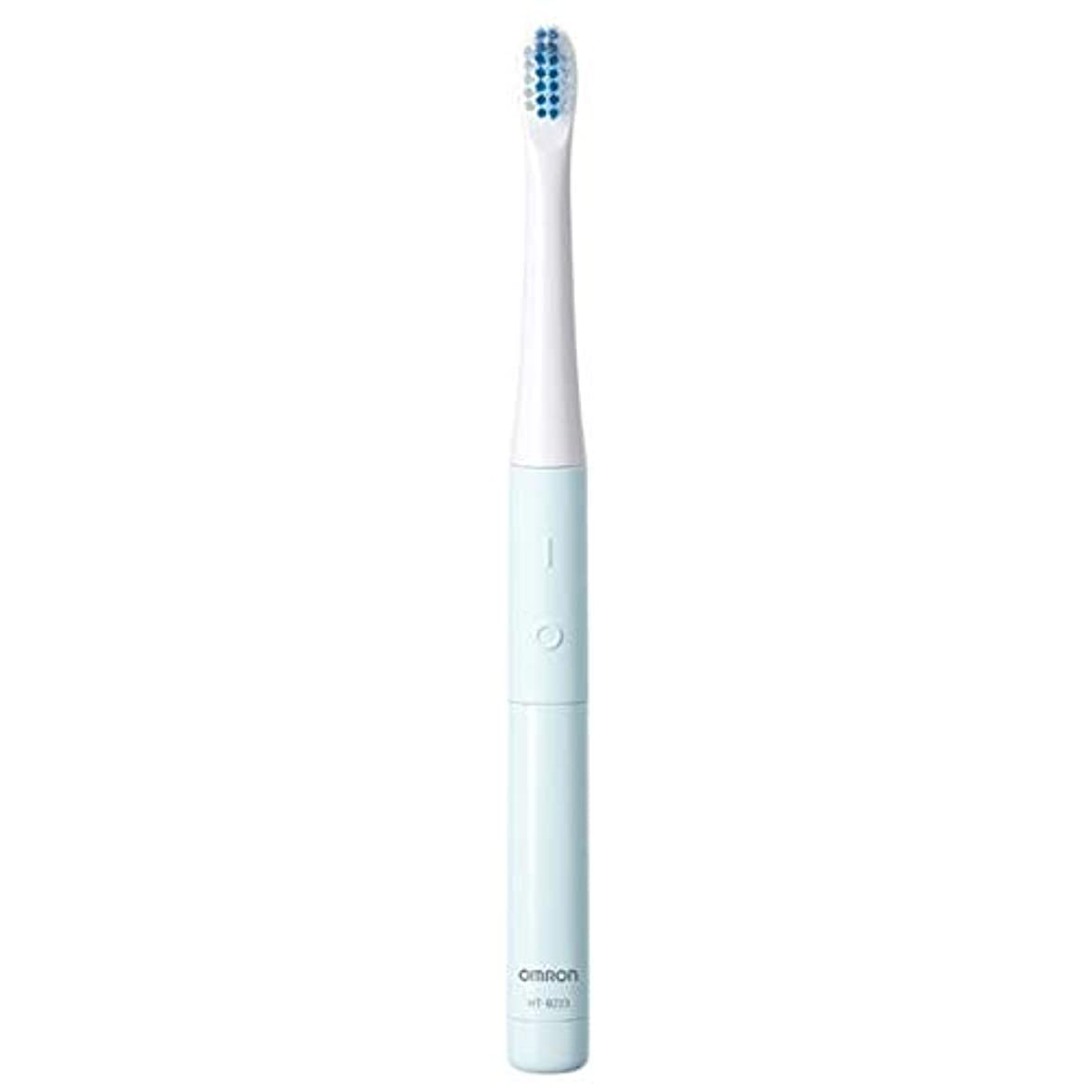 以下開拓者答えオムロン 電動歯ブラシ(ブルー)OMRON 音波式 HT-B223-B