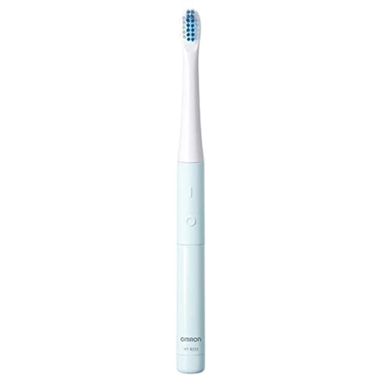 神学校省略任意オムロン 電動歯ブラシ(ブルー)OMRON 音波式 HT-B223-B