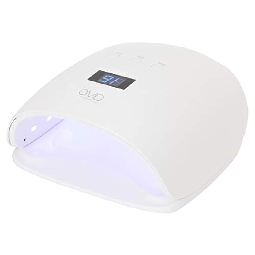 三角アルバニー石炭<OMD> DX UV/LEDライト-D02 [ ネイルライト ネイルランプ LEDライト LEDランプ UVライト UVランプ ジェルネイル ネイルドライヤー LED UV ネイル ライト ランプ ]