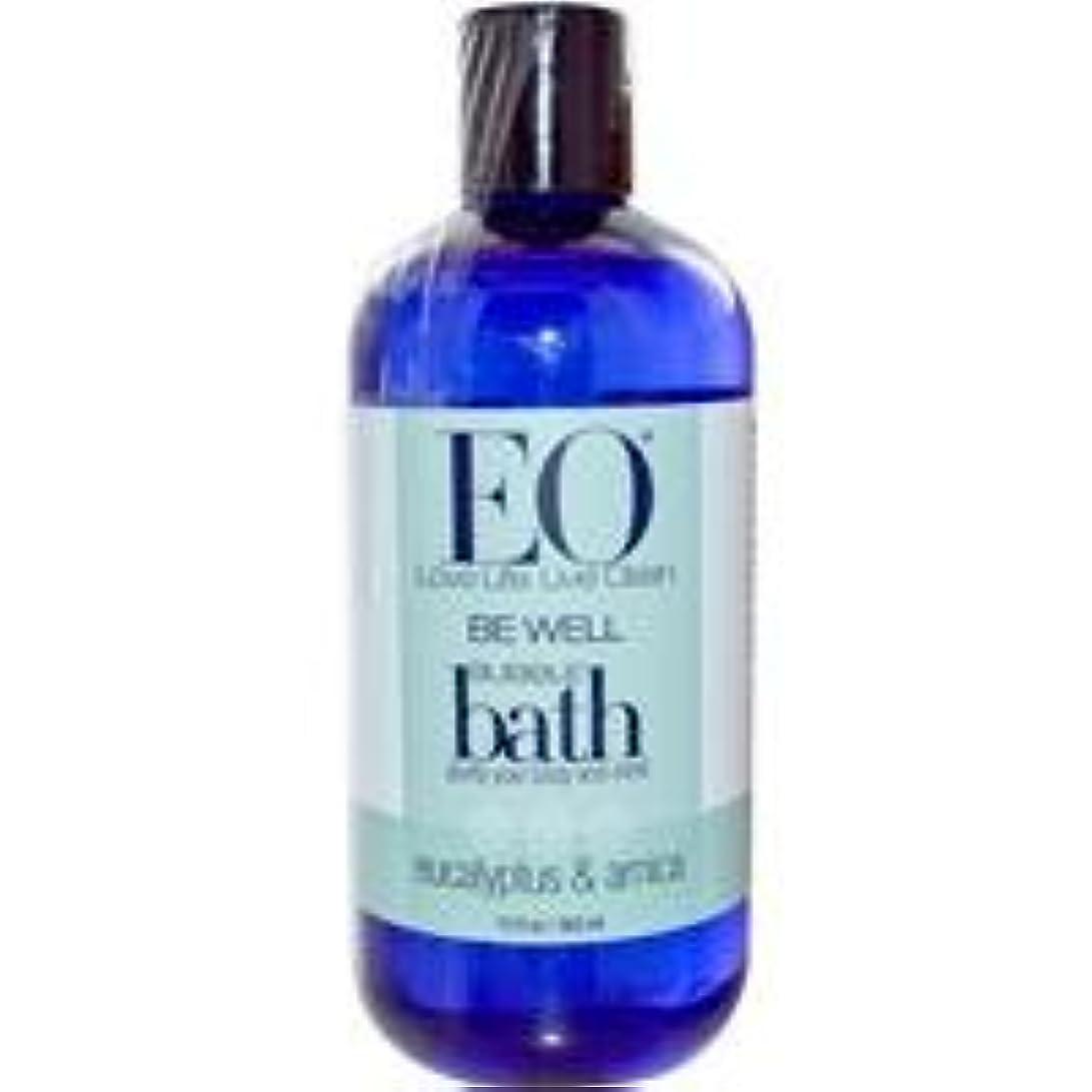 [海外直送品] イーオー(EO Products) バブルバス(ユーカリ&アルニカ) 360ml