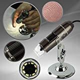 Dazone ® 1000x倍率USBデジタル顕微鏡内視鏡顕微鏡8LED withスタンド