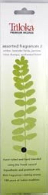 放置生き残り担保TrilokaプレミアムアロマセラピーIncense – Assorted Fragrancesグループ2