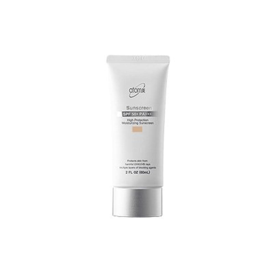 先タバコデッキ【アトミ】Atomy Sunscreen beige SPF50+ PA+++ - 60ml (韓国直送品)