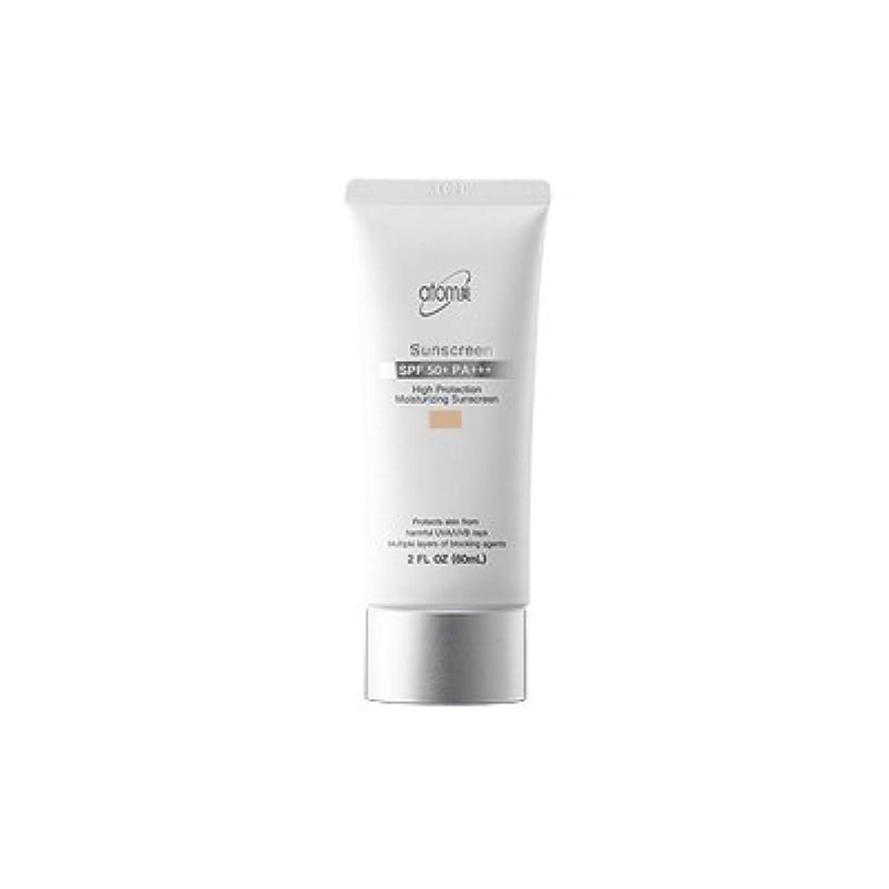 系譜きらめく公演【アトミ】Atomy Sunscreen beige SPF50+ PA+++ - 60ml (韓国直送品)