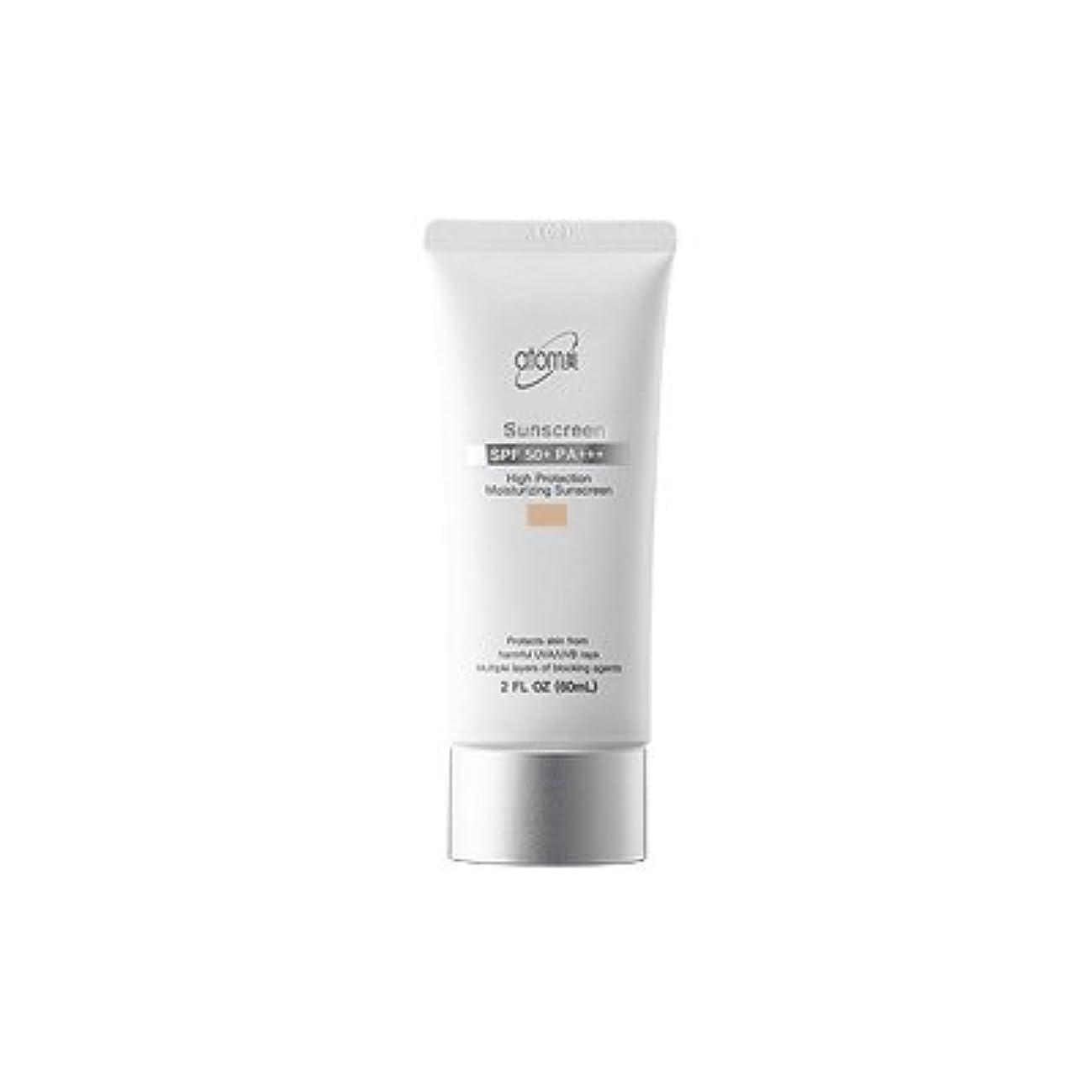 代数的打撃ワゴン【アトミ】Atomy Sunscreen beige SPF50+ PA+++ - 60ml (韓国直送品)