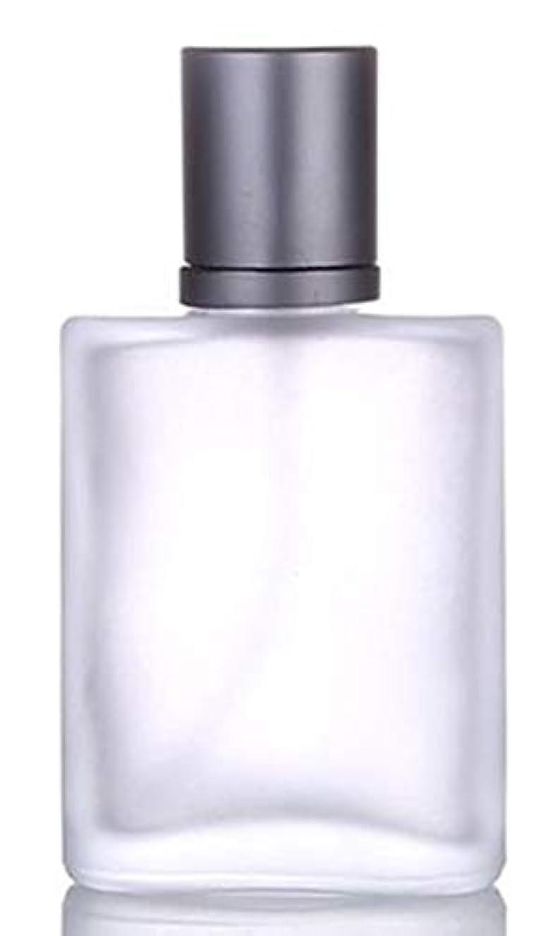 全体ミントラリーShopXJ 香水 アトマイザー 詰め替え 持ち運び用 30ml ブラック (ブラック)