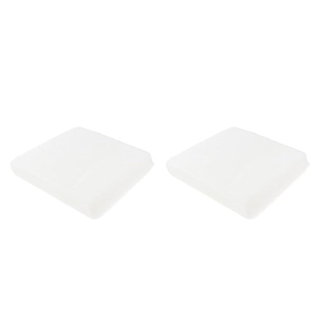P Prettyia クレンジングシート メイク落とし 使い捨て 洗顔シート 不織布 顔クレンジング 2サイズ - 1#