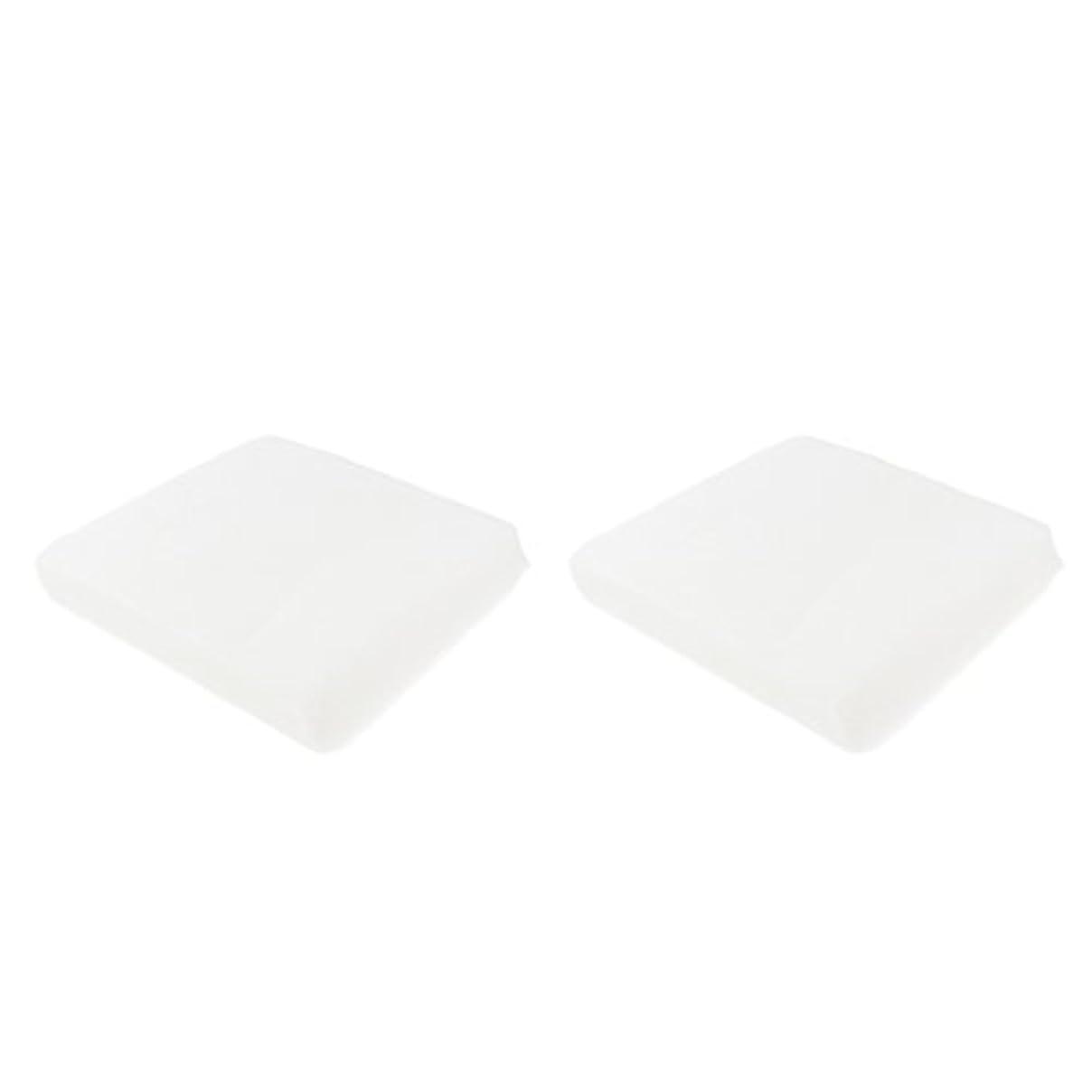 引退する用心する柔らかいクレンジングシート メイク落とし 使い捨て 洗顔シート 不織布 顔クレンジング 2サイズ - 1#