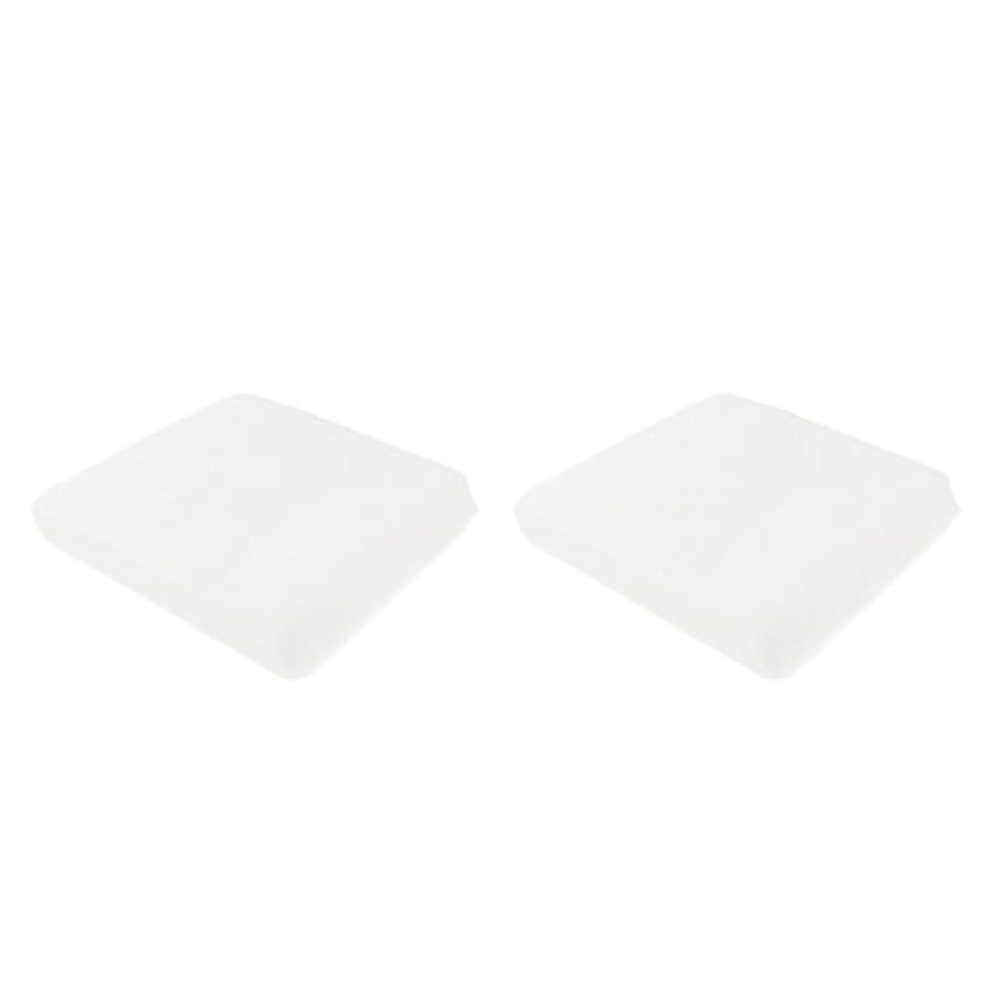 警戒感謝反対にクレンジングシート メイク落とし 使い捨て 洗顔シート 不織布 顔クレンジング 2サイズ - 1#
