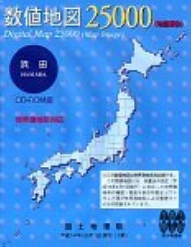 誓い廃棄絶滅した数値地図 25000 (地図画像) 浜田
