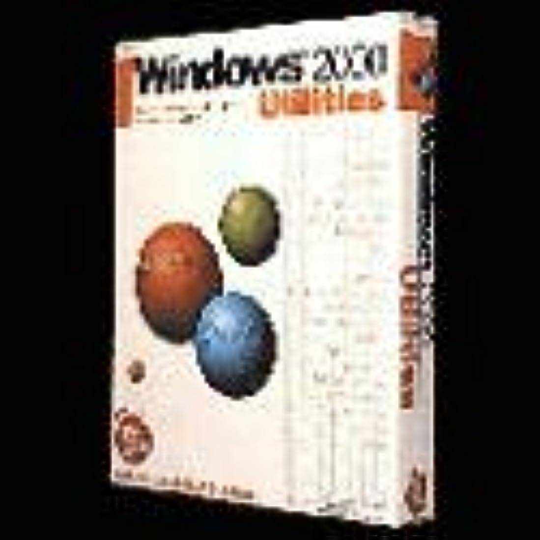 うっかり発生するスラダムWindows2000 Utilities