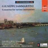 Sammartini: Concertos for various instruments
