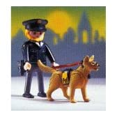 プレイモービル ポリス 警察官と警察犬 3986