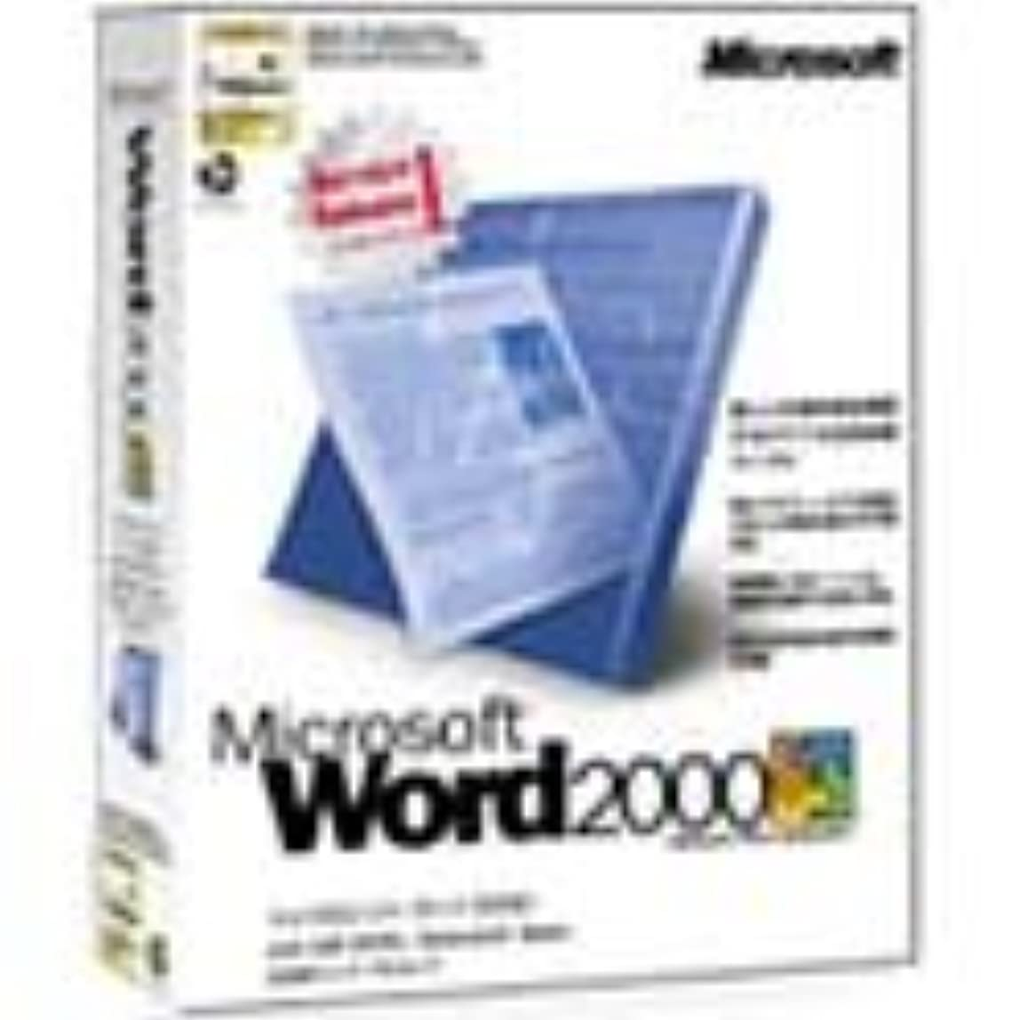 先例器具起点【旧商品】Microsoft Word2000 with IME2000 Bookshelf Basic Service Release 1
