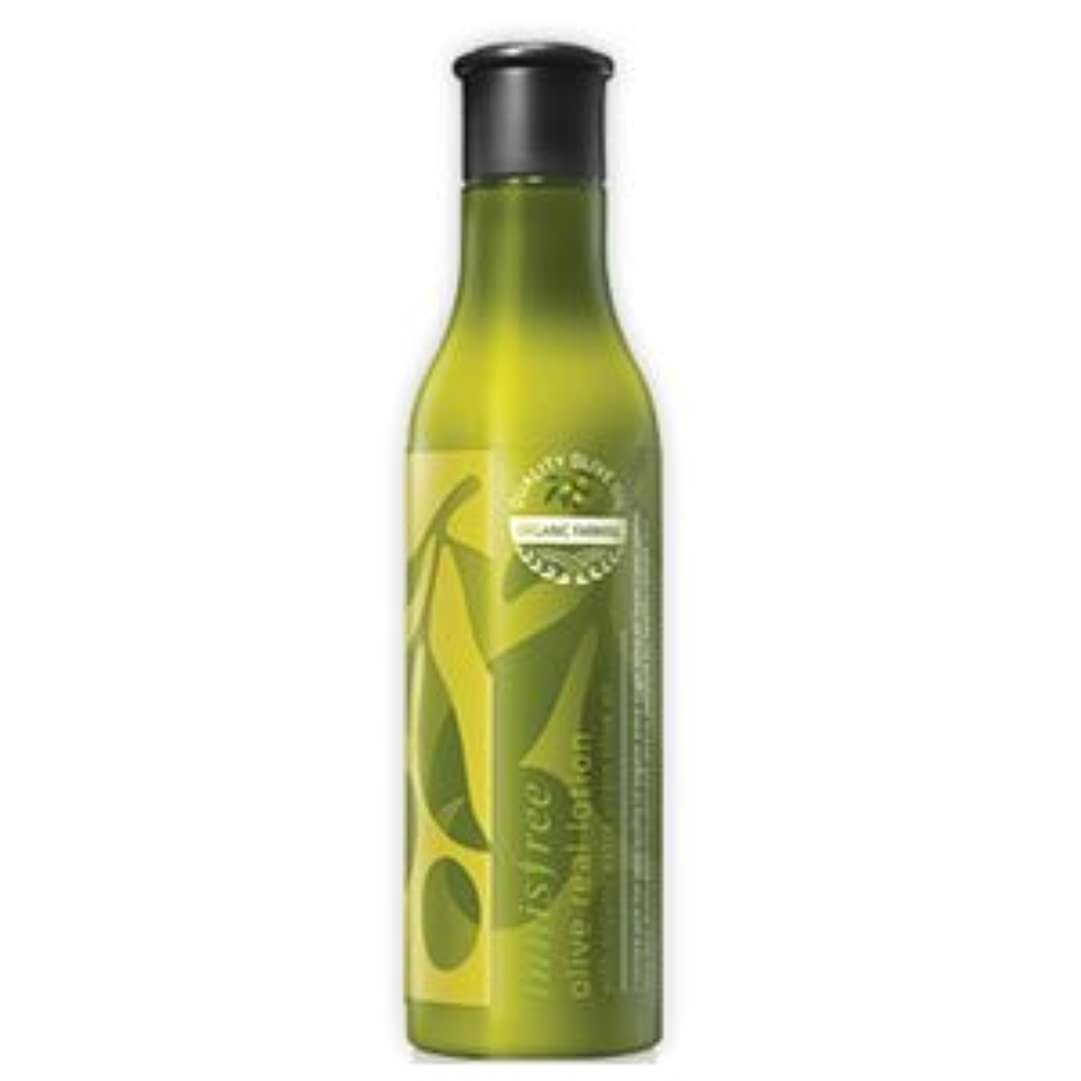 最大早熟伝統的innisfree(イニスフリー) 保湿栄養 オリーブリアル ローション 乳液 160ml