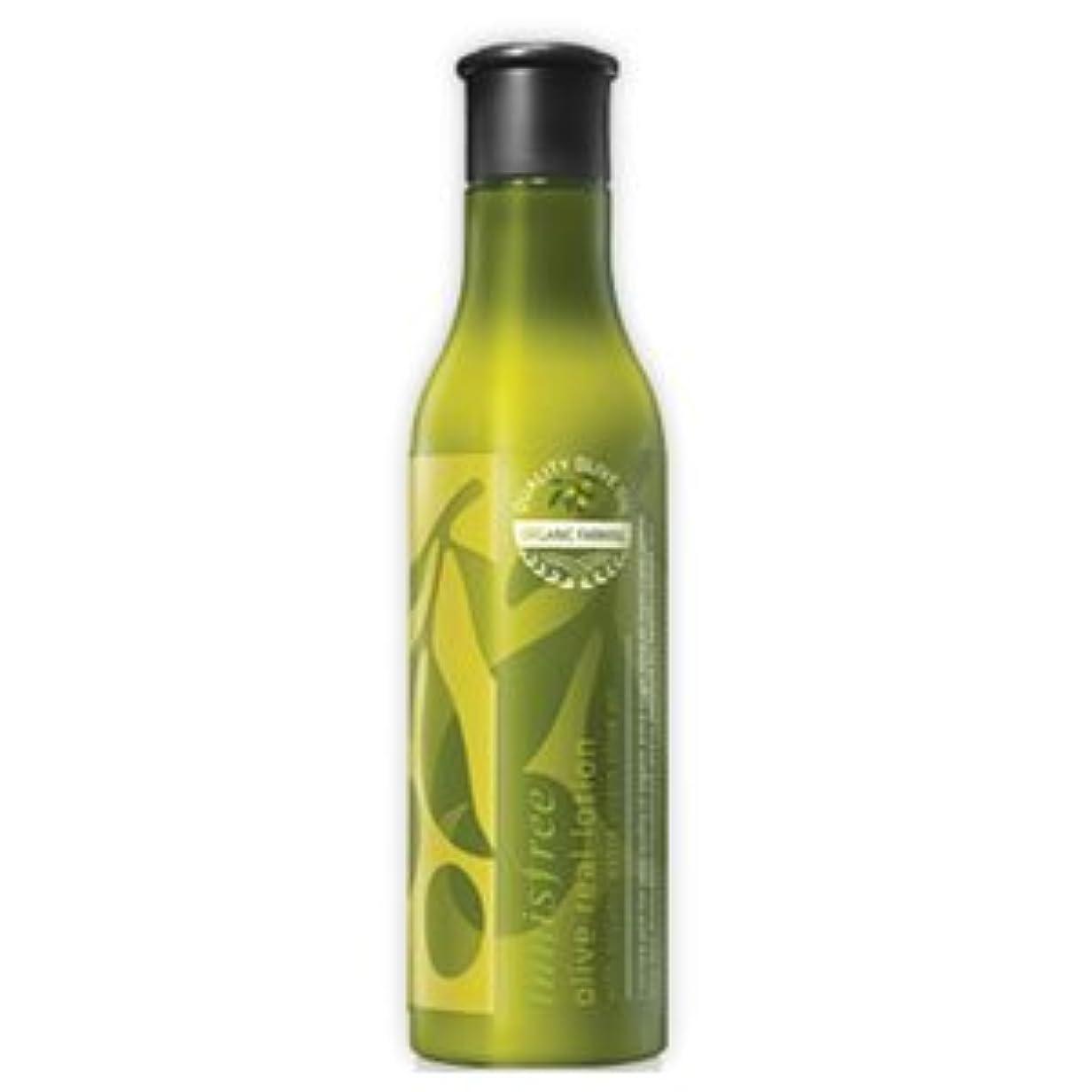 減少診断する攻撃的innisfree(イニスフリー) 保湿栄養 オリーブリアル ローション 乳液 160ml