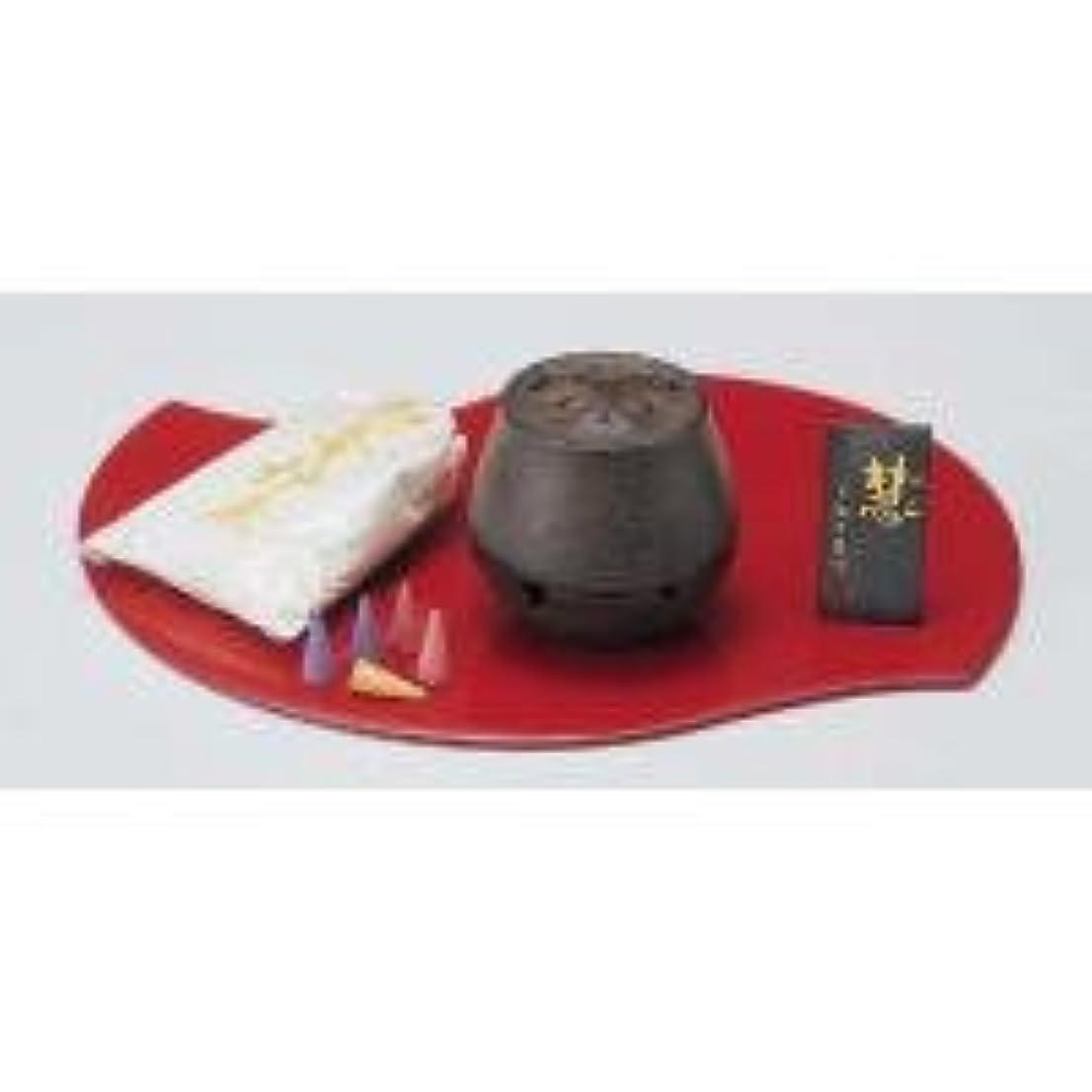 グリーンバックウェイトレス岩89-02 香炉 慧(けい) 香セット