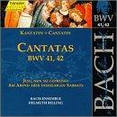 Sacred Cantatas Bwv 41 42