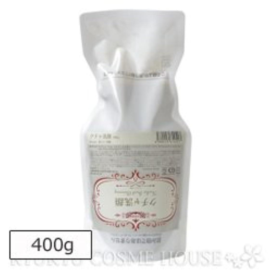 泥だらけ廃棄する生まれRyuspa リュウスパ クチャ洗顔 400g エコパウチ 詰め替え用
