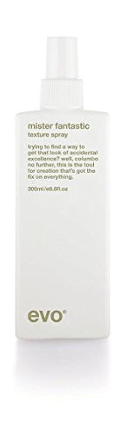 期待拡張休日にEvo Mister Fantastic Blowout Spray (For All Hair Types, Especially Long, Layered Hair) 200ml/6.8oz