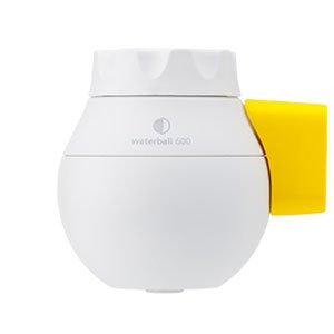 東レ 小型浄水器 ウォーターボール WB600B-Y ホワイト/イエロー