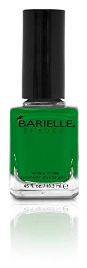 人差し指マーケティング寺院BARIELLE バリエル グリーンwithエンビー 13.3ml Green With Envy 5234 New York 【正規輸入店】
